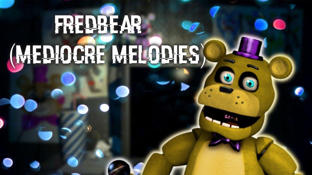 [FNAF | Speed Edit] Making Fredbear ( Mediocre Melodies )