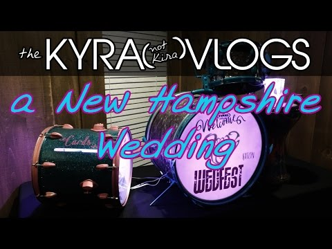a New Hampshire Wedding | Kate & Aaron | Rock 'n Roll Themed | the Kyra (not Kira) Vlogs