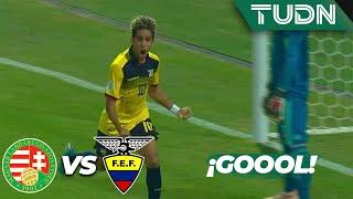 ¡Qué partidazo! Gol de Mina | Hungría 2 - 3 Ecuador | Mundial Sub-17 | G - B | TUDN