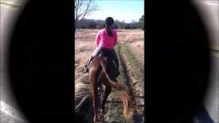 Dalton & Mya's Impromptu Trail Ride