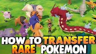 How To Transfer RARE Pokemon from Pokemon GO to Pokemon Let's Go Pikachu & Eevee | PhillyBeatzU