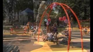 Parco Formentano: aperta area gioco per i bimbi disabili