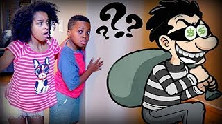 Shiloh and Shasha vs MYSTERY MAN!? - Onyx Kids