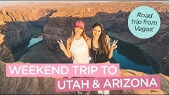 Weekend Road Trip to Utah and Arizona from Las Vegas - Zion National Park, Antelope Canyon & More!