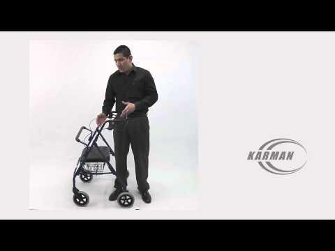 Karman Extra Wide Bariatric Rollator