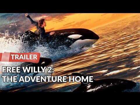 Free Willy 2: The Adventure Home 1995 Trailer | Jason James Richter