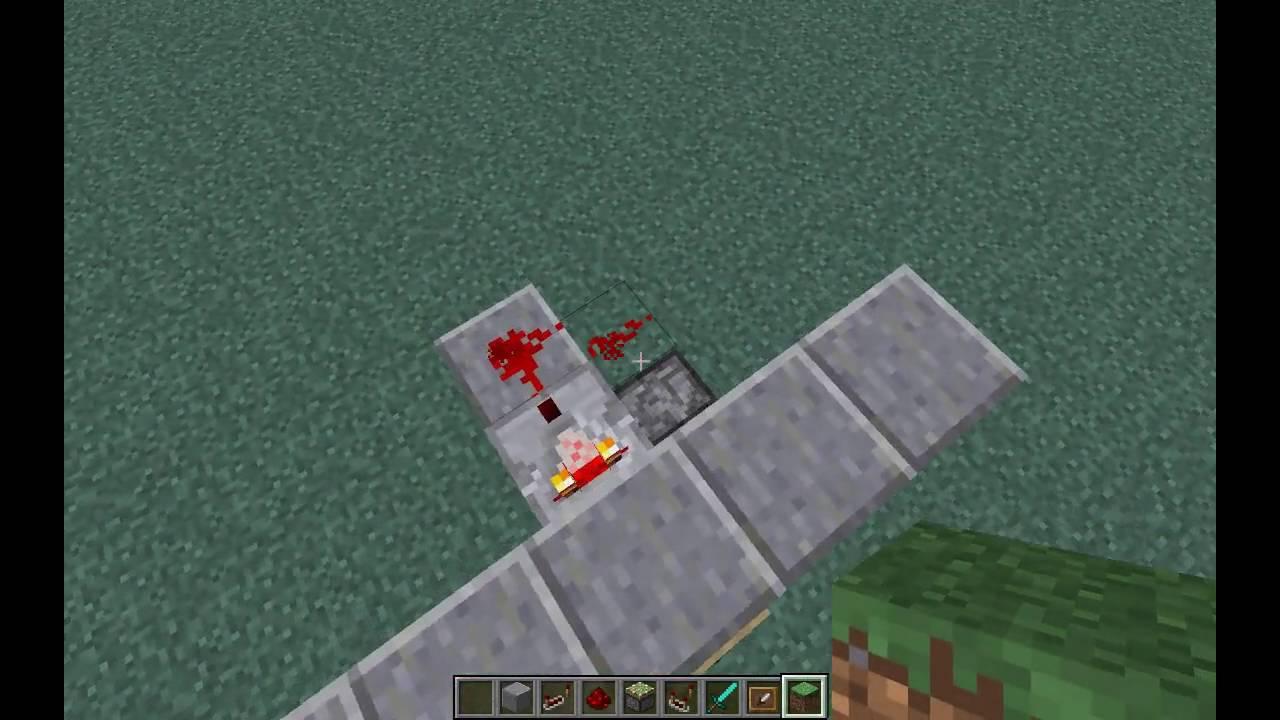 Minecraft Geheimgang #1 mit Bilderrahmen öffnen tutorial - YouTube