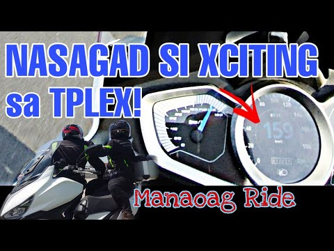 Pangasinan Manaoag Ride | KMCP | Kymco XcitingS400i top speed | 1st time mag motor sa TPLEX |