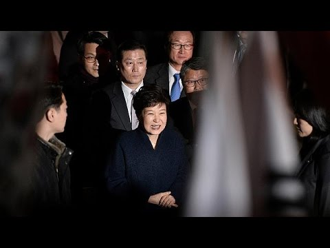 South Korea's impeached Park Geun-hye leaves presidential palace