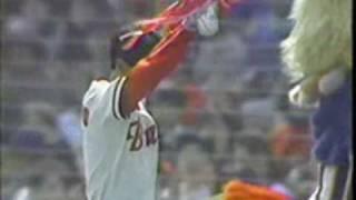 福本豊最後のバッティング 1989年対巨人オープン戦 山田、福本引退試合 thumbnail