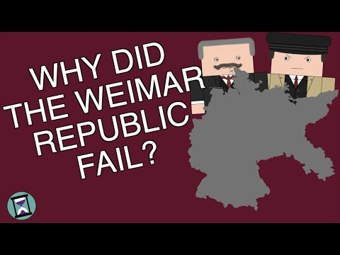 Why did the Weimar Republic Fail? (Short Animated Documentary)