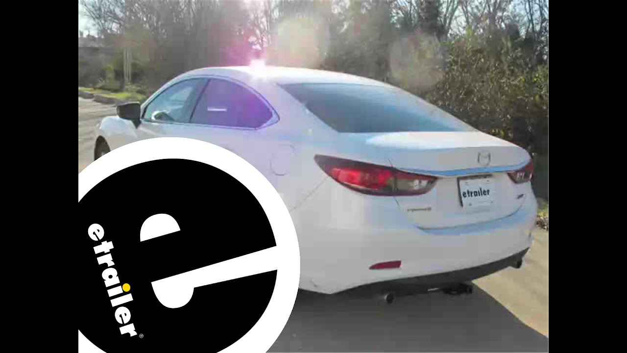 Installation of a Trailer Hitch on a 2014 Mazda 6  etrailercom