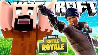 Если бы Fortnite захватил Minecraft | Майнкрафт машинима