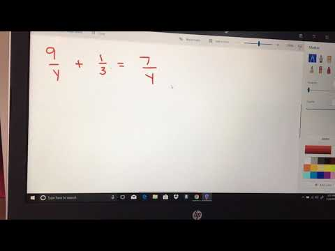 Solving Rational Functions