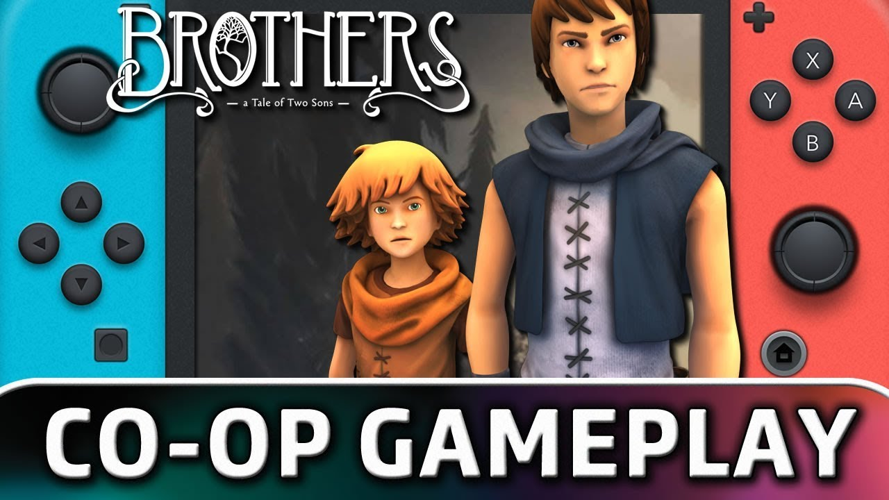 Brothers: A Tale of Two Sons | First 25 Minutes in Co-op on Nintendo Switch