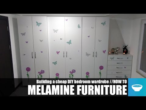 Charmant Building Cheap DIY Furniture Out Of Melamine //HOW TO   YouTube