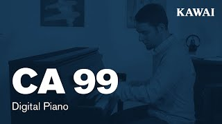 KAWAI CA99 Digital Piano DEMO - ENGLISH