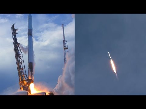 SpaceX CRS-14: Falcon 9 launches CRS-14 Dragon spacecraft