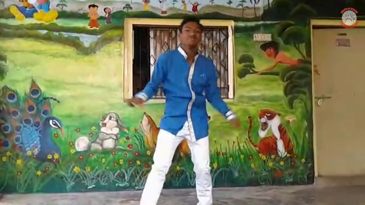 Best Dance At Saraswati Hindi Hingh School   Best Dancer Of Umbergaon   Sachin B