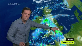 Wednesday morning forecast 22/03/2017