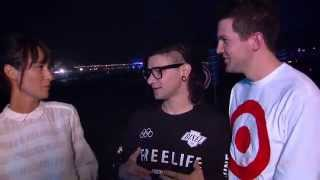 TomorrowWorld 2014 | Interview with Skrillex and Dillon Francis