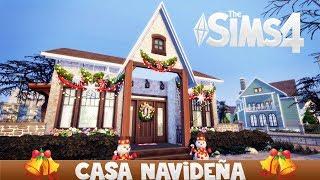 CASITA DE NAVIDAD || SIMS 4 SPEED BUILD