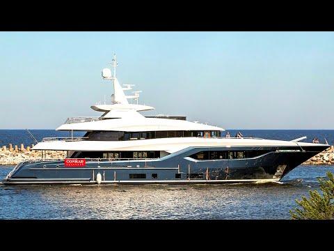 Jacht motorowy Viatoris - luksus z polskiej stoczni Conrad Shipyard