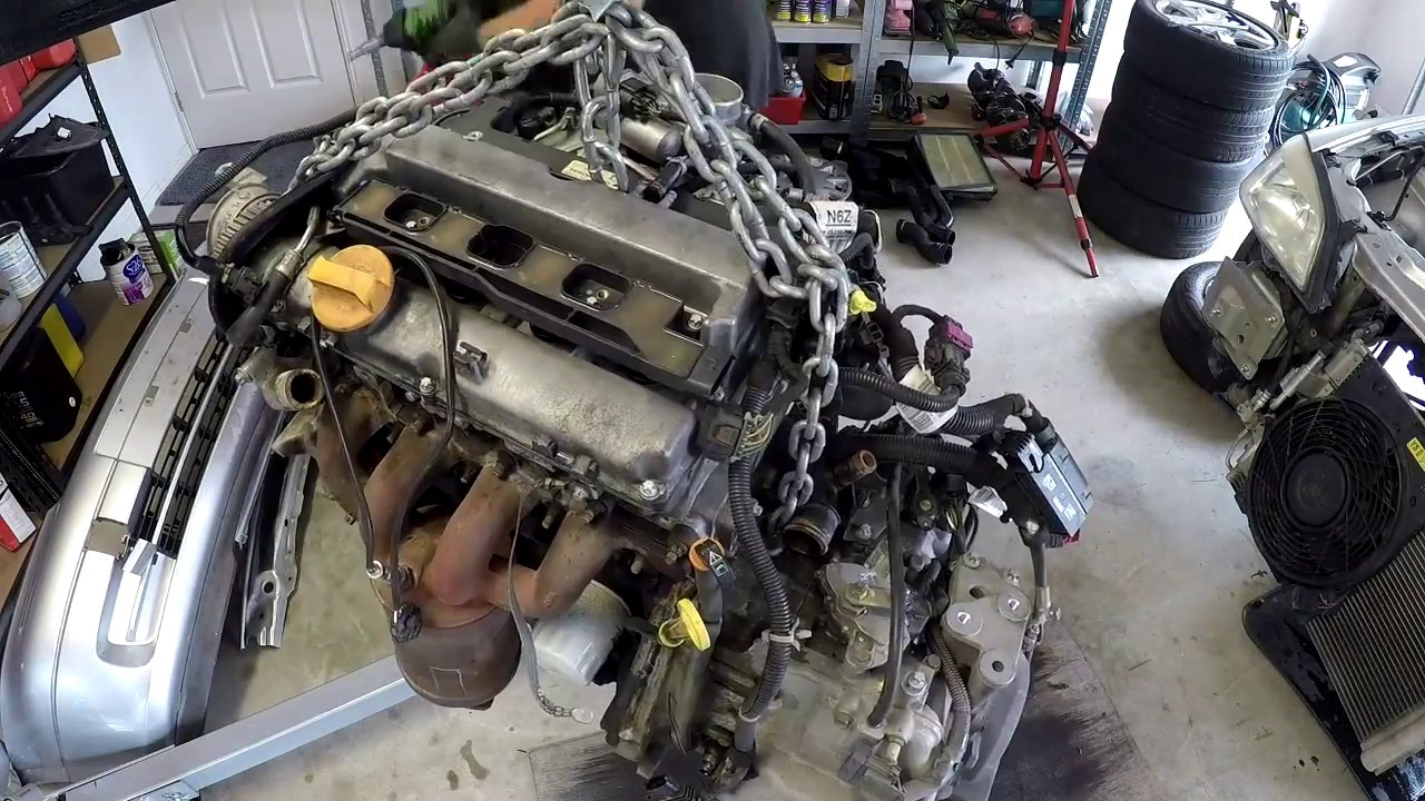 2004 Astra Engine Swap Z18XE - Time Lapse
