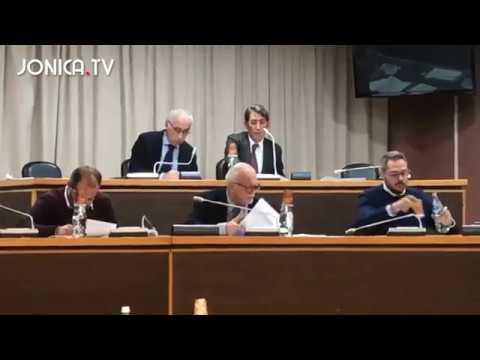 Consiglio comunale Policoro 30 Novembre 2019