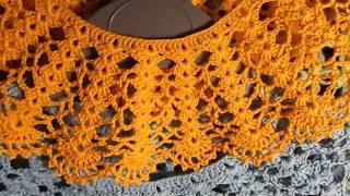 Воротничок для школьного платья крючком от Handiwork