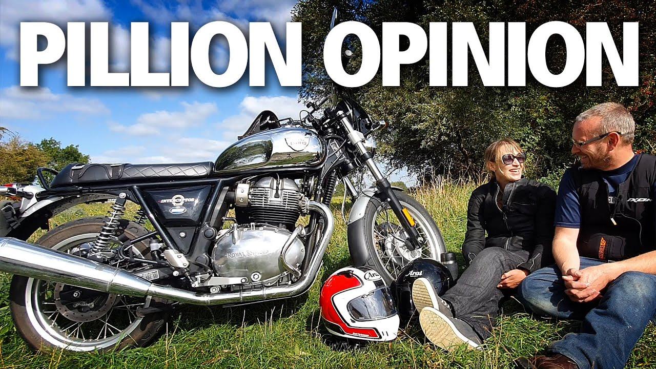 Royal Enfield Interceptor 650 review | Honest pillion opinion | Hagon shocks