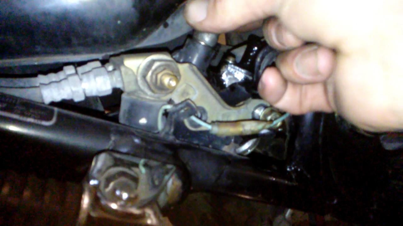 82 goldwing rear brake master cylinder [ 1280 x 720 Pixel ]