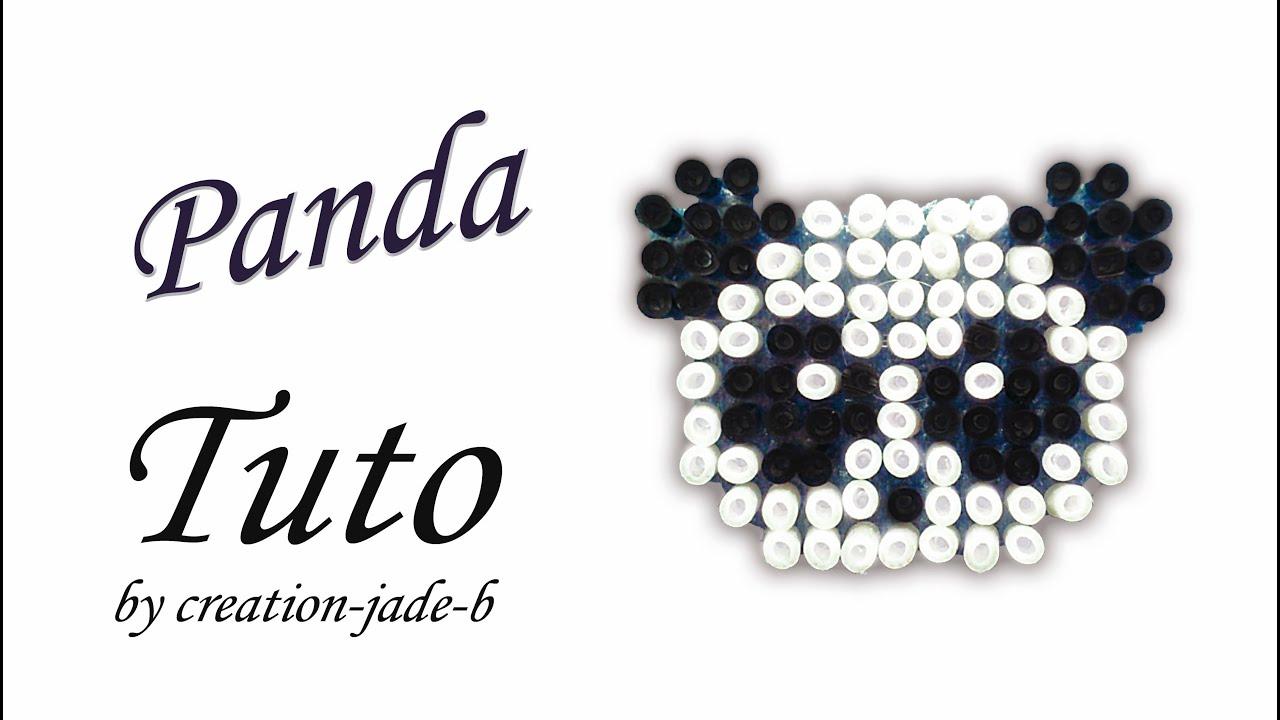Tuto Perles à Repasser Hama Panda Youtube