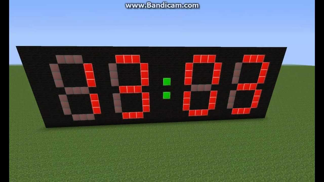 Minecraft Uhr