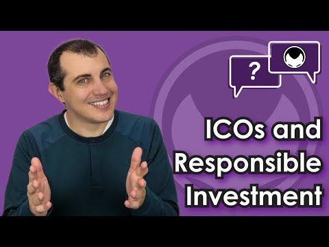 Ethereum Q&A: ICOs and responsible investment