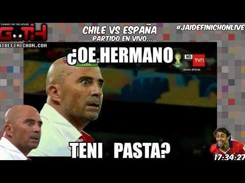 JOTH Mundialero Chile / España EN VIVO en Español - GOTH