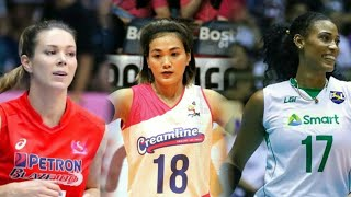 Top 15 Powerful Spikes by The IMPORTS OF PHILIPPINE WOMEN'S VOLLEYBALL