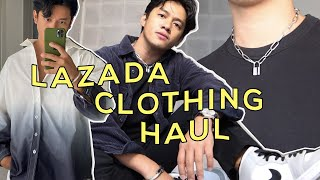 Lazada Clothing Haul 2020 | David Guison