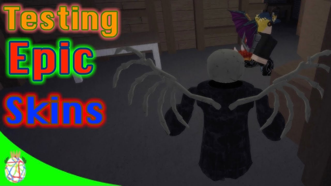 Roblox Before The Dawn Redux Project 0011 Nightfall Gameplay - Testing Out Rare Skins Before The Dawn Redux Youtube