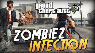 GTA 5 Mods : ZombieZ V - ЗОМБИ ИНФЕКЦИЯ