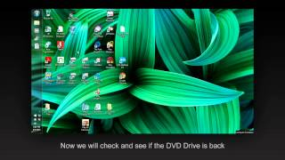 How to Fix missing DVD drive in My Computer