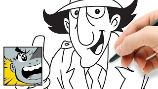 How to draw Inspector Gadget