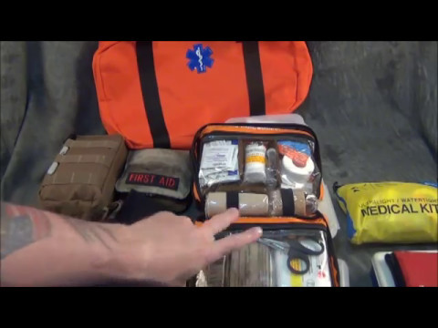 First Responder First Aid Kit Part 2 FAK Explained
