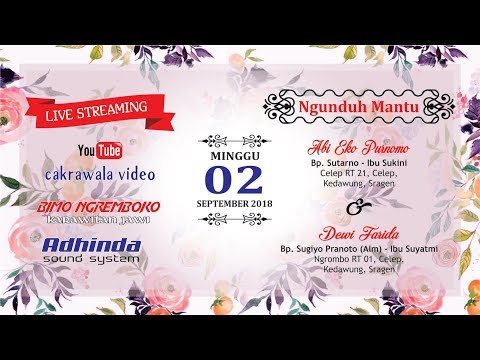 LIVE CELEP KEDAWUNG - KARAWITAN BIMO NGREMBOKO // ADHINDA SOUND