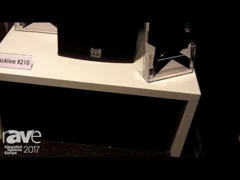 ISE 2017: Martin Audio Displays Blackline X Portable Installation Speaker Line