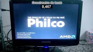 Teste de boot e uso inicial - APU A8-3800 @3.6GHz - 12GB RAM DDR3