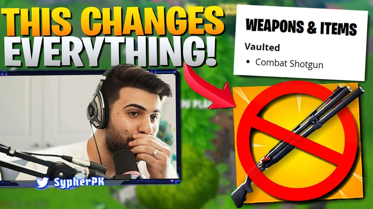 Combat Shotgun VAULTED! This Will Change Everything! (Fortnite Battle Royale) #1