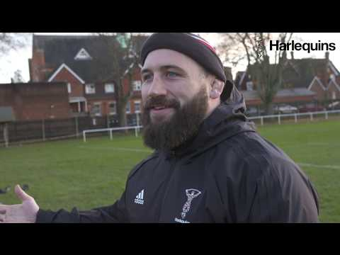A rugby player talks about horses in hilarious interview. We don't know what it means, either.