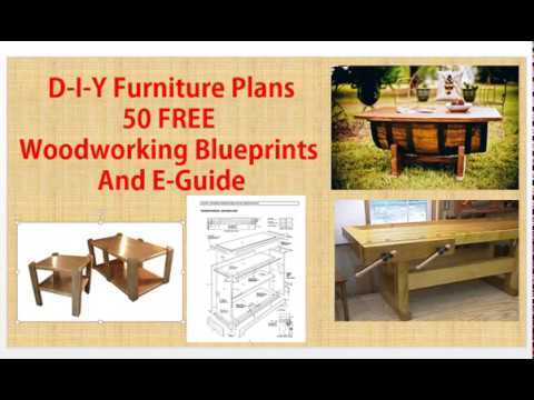 D I Y furniture plans | FREE DOWNLOAD | 50 FREE Do it yourself furniture plans
