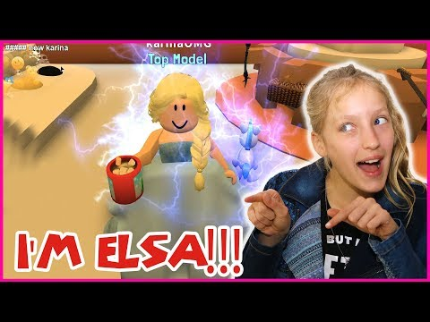 Becoming THE WORST ELSA!!!